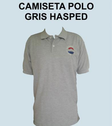 POLO GRIS HASPED
