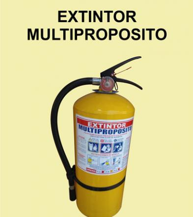 EXTINTOR MULTIPROPOSITO