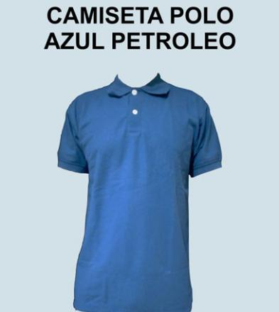 POLO AZUL PETROLEO